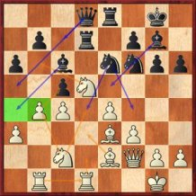 Position after 24...Qd8??