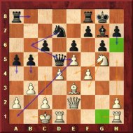 Always be checking for escape squares.  That black queen is toast