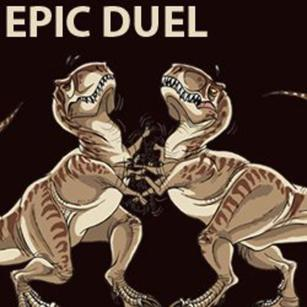 a-funny-t-rex-pictures-epic-duel